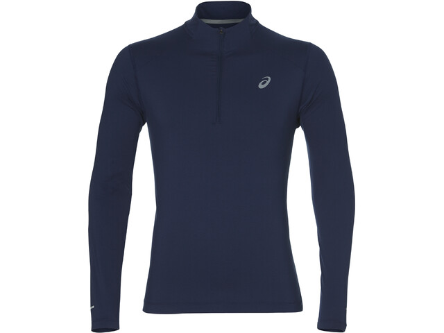 asics LS 1/2 Zip Jersey Men indigo blue